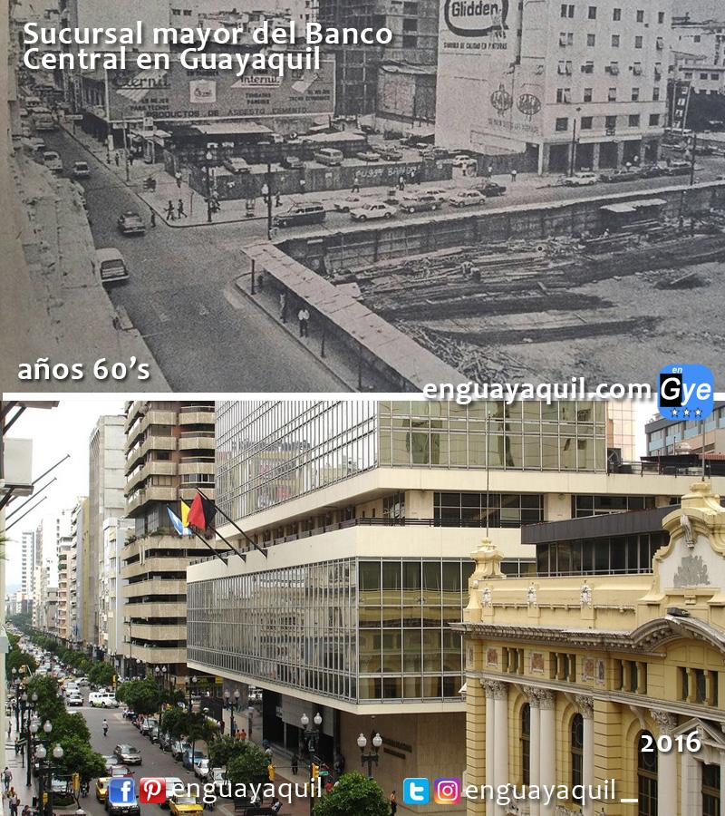 Guayaquil centro antes y despues