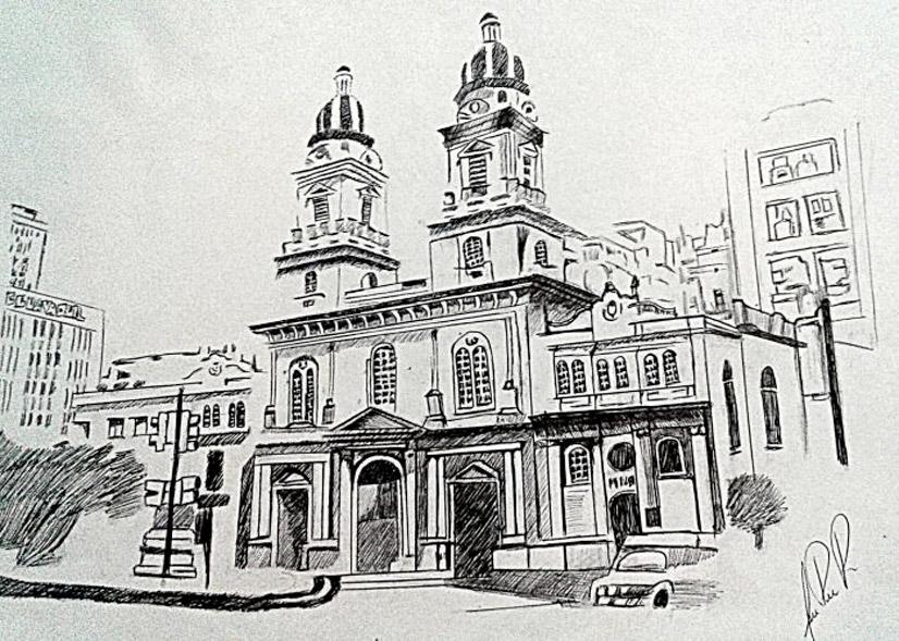 Dibujos de Guayaquil Moderno
