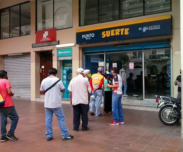 Distanciamiento social en Guayaquil