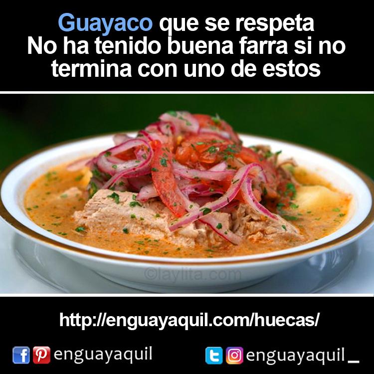 Guayaco que se respeta Encebollado