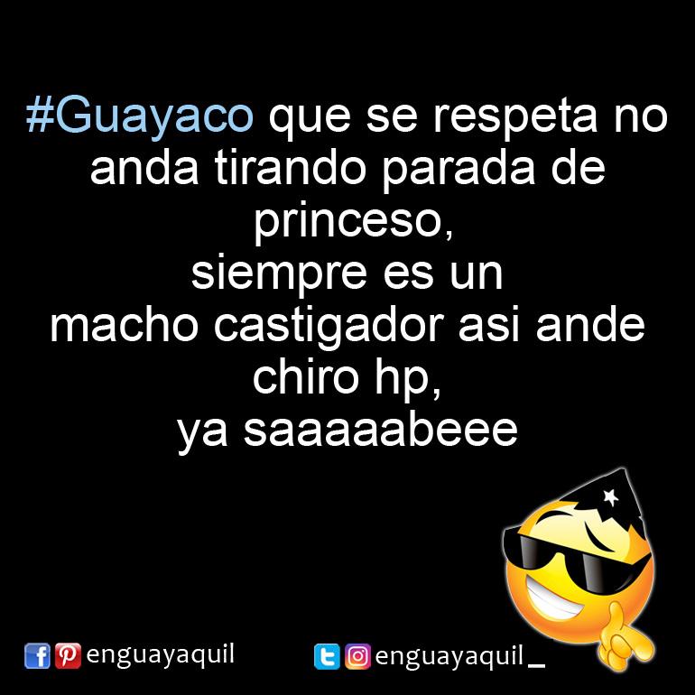 Macho castigador Guayaco