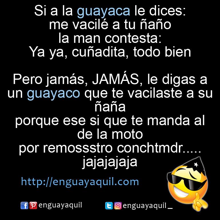 chistes de Guayacos