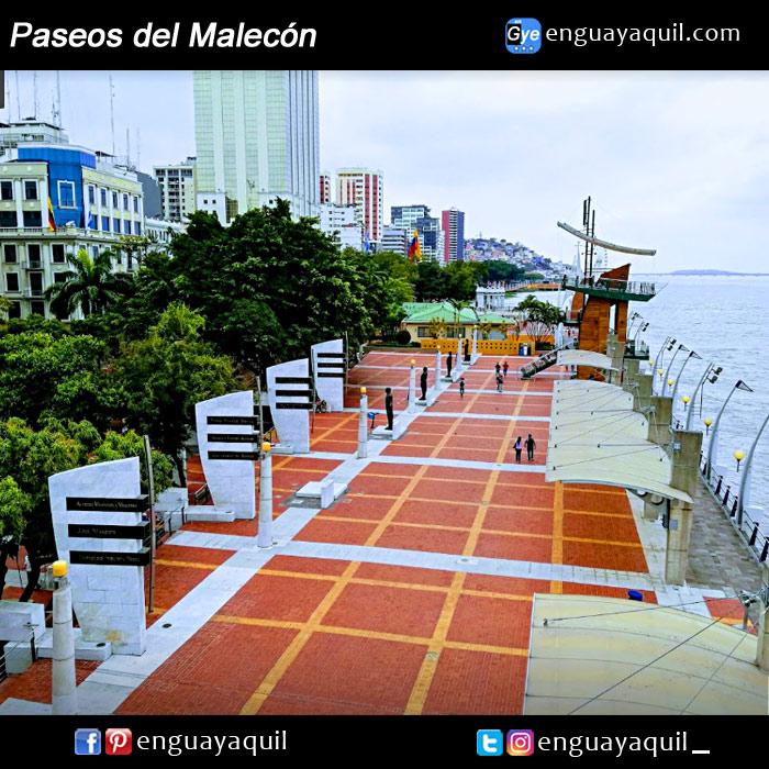 Guayaquil Malecón 2000 fotos