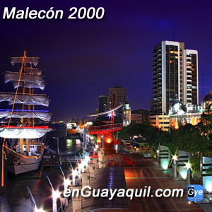 Malecón 2000 Guayaquil