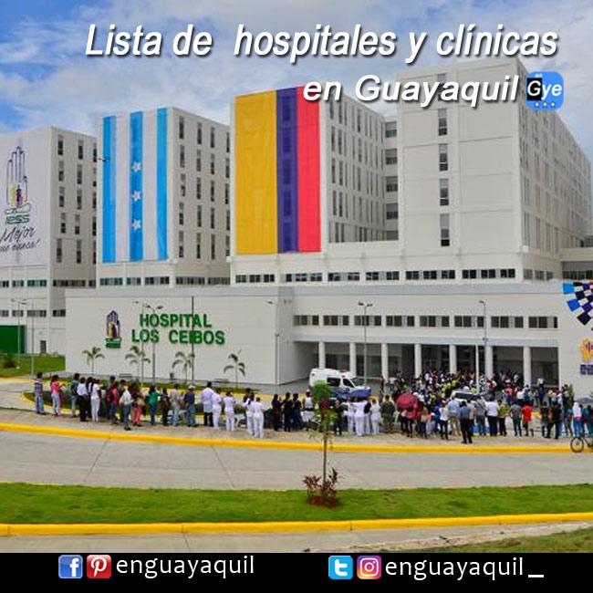 Hospitales y Principales Clínicas en Guayaquil