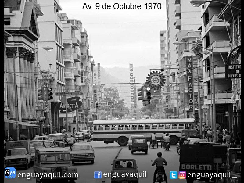 Avenida Nueve de Octubre 1970