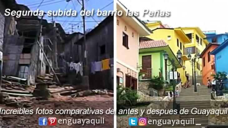Guayaquil antes y Despues