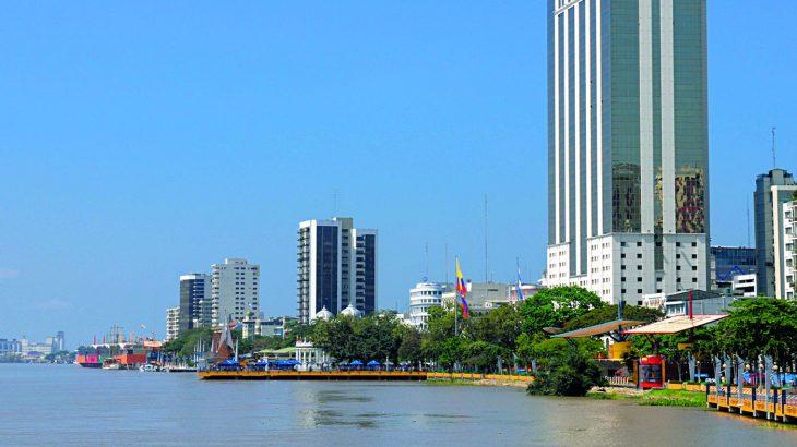 Guayaquil visto desde el rio