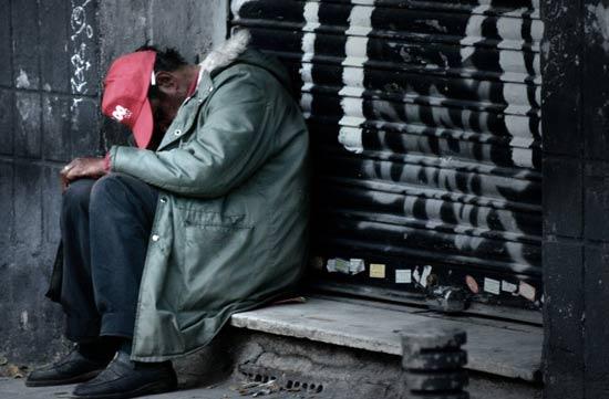 mendigos en Guayaquil
