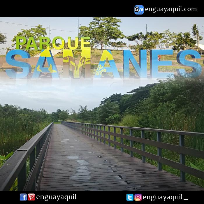 Parque Samanes Guayaquil