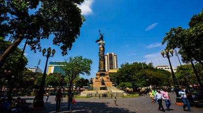Parques en el centro de Guayaquil