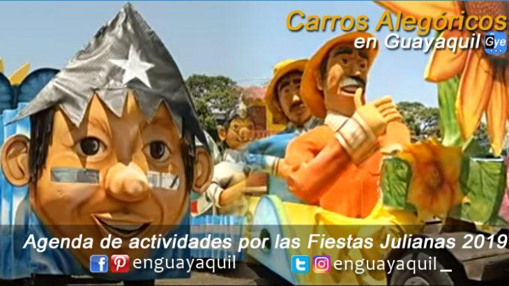 Desfile de carros alegoricos Guayaquil