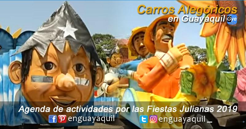Desfile de Carros Alegóricos en Guayaquil