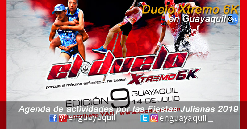 Duelo extremo 6K en Guayaquil