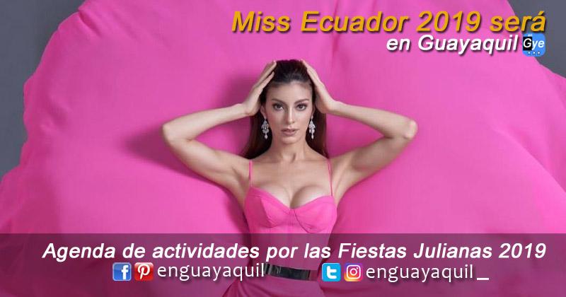 Elección Miss Ecuador 2019 en Guayaquil