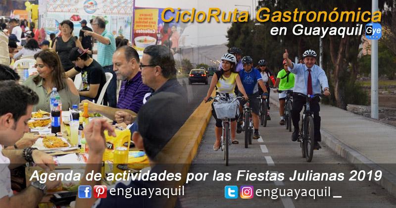 Ciclo ruta Gastronómica en Guayaquil