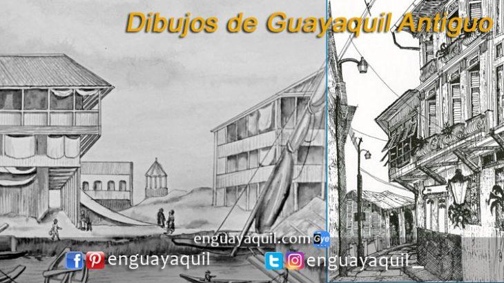 Imagenes de Guayaquil Antiguo para dibujar