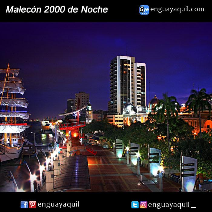 Imágenes del Malecón 2000
