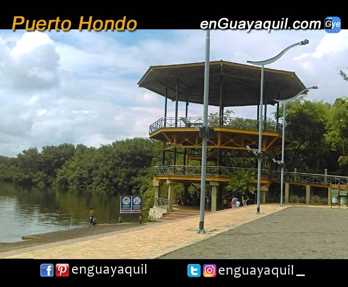 Puerto hondo manglares Guayaquil