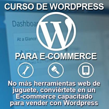 Curso de WordPress para empresas en Guayaquil - Cree su página web en Wordpress