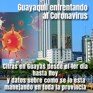 Coronavirus en Guayaquil Ecuador cifras y medidas tomadas