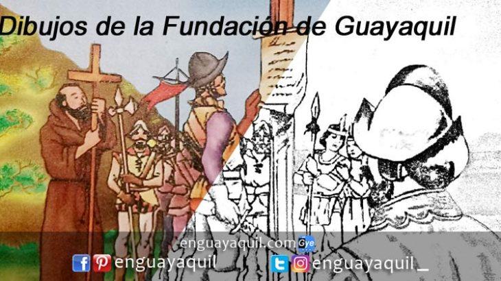 Fundacion de Guayaquil dibujos