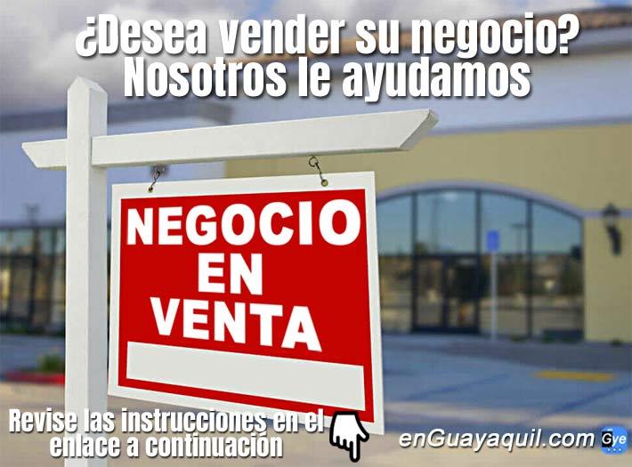 venta de negocios de oportunidad Guayaquil